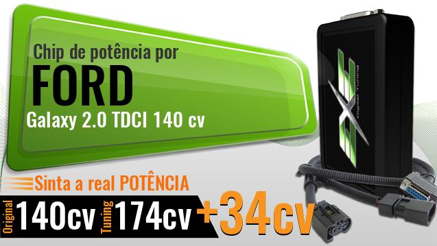 Chip de potência Ford Galaxy 2.0 TDCI 140 cv