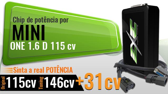 Chip de potência Mini ONE 1.6 D 115 cv