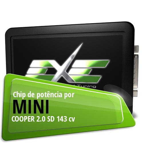 Chip de potência Mini COOPER 2.0 SD 143 cv