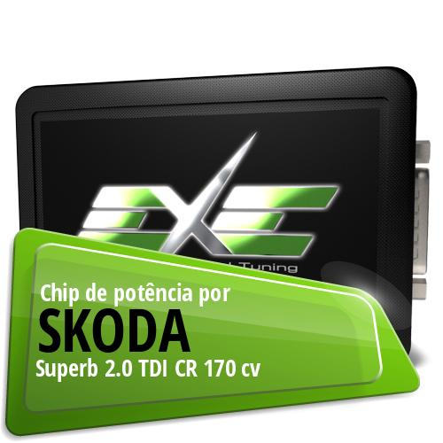 Chip de potência Skoda Superb 2.0 TDI CR 170 cv