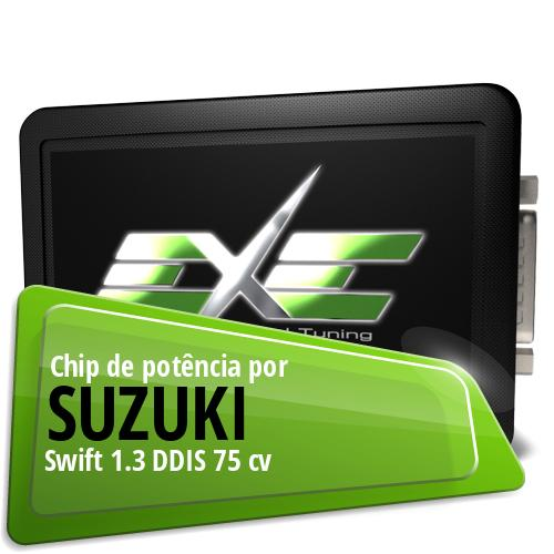 Chip de potência Suzuki Swift 1.3 DDIS 75 cv